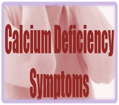Calcium deficiency